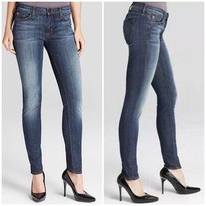 Hudson Midrise Nico Super Skinny Jean Glam 31 NWT
